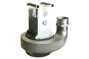 """4"""" Discharge Hydraulically Powered Submersible Trash Pump (316 Stainless Steel)"""