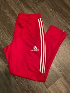 Adidas Performance Tiro Track Pants L Red/White 15 16 17 18 19 20