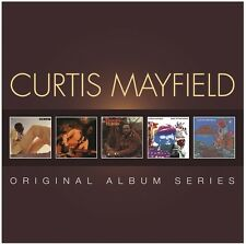 Curtis Mayfield - Original Album Series [New CD] Asia - Import