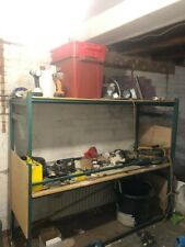 Garage Metal Shelving Unit Green 185 x 71 x 81 cm