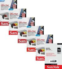 SanDisk Ultra Flair 16GB 32GB 64GB 128GB 256GB 512GB USB 3.0 SD CZ73 150MB/s LOT