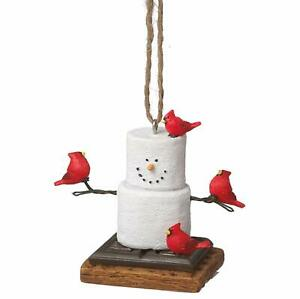 Midwest CBK Toasted S'Mores With Cardinals Ornament