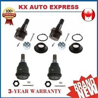 4X Front Upper & Lower Ball Joints Kit for Dodge Ram 2500 & 3500 4WD 2003 - 2012