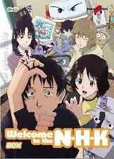 WELCOME TO THE NHK - BOX N. 1-2 SERIE COMPLETA (4 DVD) originale yamato