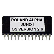 Roland Alpha Juno 1  Latest OS V 2.6 Update Upgrade Firmware Eprom Juno1