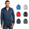 Performance Fleece 1/4-Zip Pullover Sweatshirt Poly Dry Zone Wicking Dri PC590Q