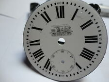 Pocket watch dial, with locomotive, 4mm, E108