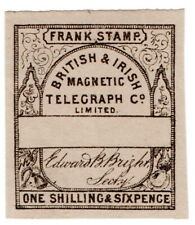 (I.B) British & Irish Magnetic Telegraph Company 1/6d (no control)