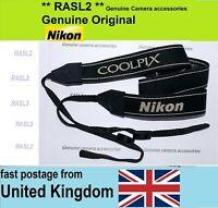 Genuine Nikon Neck Shoulder Strap for CoolPix B500 B700 P510 P600 P610 P900 L840