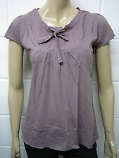 Scoop Neck Cotton Short Sleeve Tunic, Kaftan Women's Tops & Shirts