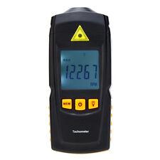 Pocket Digital Laser Tachometer Tach Meter Tester Wide Range 2.5-99999 RPM LCD