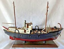 Modellschiff / Modellboot - Fischerboot / Fischkutter oder kleines Frachtschiff