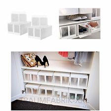 ikea aufbewahrungsboxen f r wohnbereich ebay. Black Bedroom Furniture Sets. Home Design Ideas