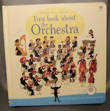 Usborne Musical Books - First Book About The Orchestra - Sam Taplin Board Books
