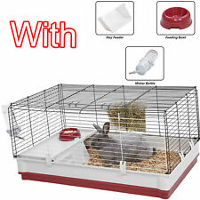 Extra Large Rabbit Cage Pet Kit Guinea Pig Rodent Pets Indoor Animal Bunny House