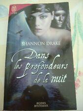 SHANNON DRAKE (HEATHER GRAHAM)- DANS LES PROFONDEURS DE LA NUIT -  J'AI LU 7859