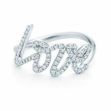 Valentine's Day Round Excellent Cut Fine Diamond Rings