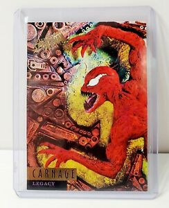 1995 Fleer Ultra Spider-Man #84 Carnage Legacy Trading Card
