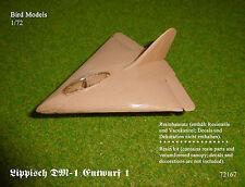 resin kit Lippisch P.01-116//II   1//72 Bird Models Resinbausatz