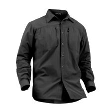 Men Military Army Shirt Combat Long Sleeve Quick Dry Breathable Training Top