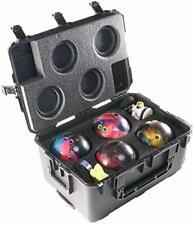 Case Club 4 Bowling Ball Heavy Duty Hard Case With Wheels
