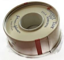 Vintage Waterproof Adhesive Tape Tin Red Cross Johnson & Johnson 1/2 Inch