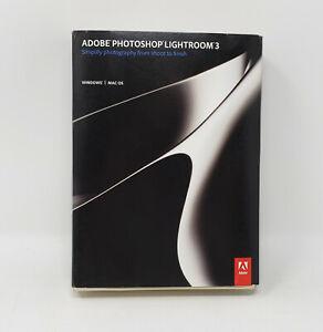 Adobe Photoshop Lightroom 3 - FULL RETAIL VERSION WINDOWS/MAC - W/ Serial Number