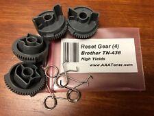 4 x Reset Gear for Brother TN-436, HL-L8260, L8360, L9310, L8900, L9570 Refill