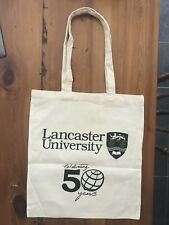 2 x Lancaster University Tote Bag. BNWOT. 50th Anniversary Edition.