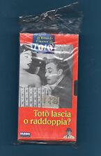 IL GRANDE CINEMA DI TOTO' - VHS -TOTO' LASCIA O RADDOPPIA? - SIGILLATO