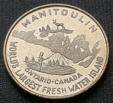1969 Manitoulin Island Haweater $1 Trade Dollar - Little Current Lion's Club