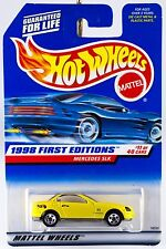 Hot Wheels 1998 First Editions #11 Mercedes SLK #646 New On Card