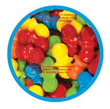 Oh Baby Pacifiers 2lb Dubble Bubble candy Sweet Tart Fruit flavor coated candies
