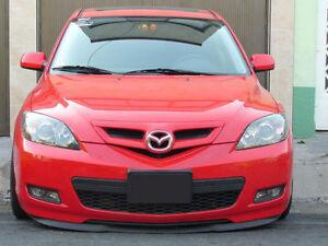 Mazda 3 Front Bumper CUPRA R Euro Spoiler Lip Valance Splitter/Trim Speed 04-09