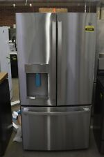 "Ge Gye22Gynfs 36"" Stainless Cd French Door Refrigerator Nob #91999 Clw"