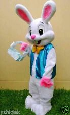 Easter Bunny Mascot Costume Rabbit Halloween Birthday party Dress Adult Size UK