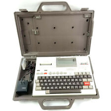 Epson HX-20 Vintage Portable Computer W/ Case & Power Cord