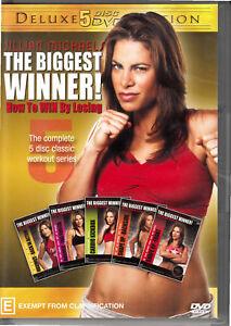 Jillian Michaels : The Biggest Winner - COMPLETE WORKOUT SET ( DVD : 5 DISC )