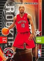 2009-10 Panini Adrenalyn XL DeMar DeRozan RC Rookie Card >Toronto Raptors 🔥🏀🔥