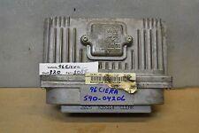 1996 Oldsmobile Achieva Engine Control Unit ECU 16211539 Module 20 10B5