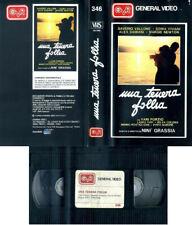 UNA TENERA FOLLIA 1986 NINI' GRASSIA VHS ORIGINALE GENERAL VIDEO COME NUOVA