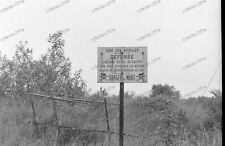 negativ-Verdun-France-Wehrmacht-1940-Lothringen-Meuse-Frankreich-Schild-Minen-1