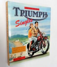 Triumph Singles - Late Pre-War Models by Roy Bacon - Osprey Hardback + Jacket