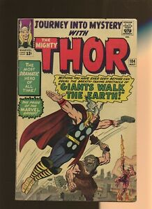 Journey Into Mystery 104 VG 3.5 * 1 Book Lot * Thor! Stan Lee & Jack Kirby!