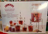 Kilner Vintage Drinkes Dispenser Set  5 Litres 9pz.