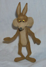 Vintage 80s Wile E. Coyote Fur Figure by Lucky Bell K-Mart excl. Looney Tunes