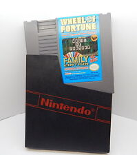Nintendo NES Wheel Of Fortune Family Edition Game Cartridge, Works R13313