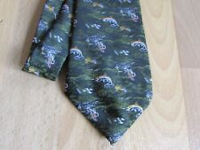Early Possibly Jumping SALMON / Fish FISHING Interest Tie