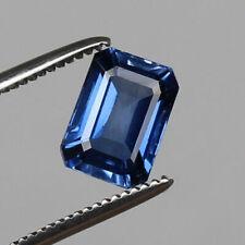 RARE 9.65x6.95mm OCTAGON-FACET CERTIFIED NATURAL (GL) KASHMIR BLUE SAPPHIRE GEM