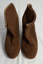 "Size 10 Ladies ""Tony Bianco"" Brown Wedge Boots. Great Condition. Bargain Price!"